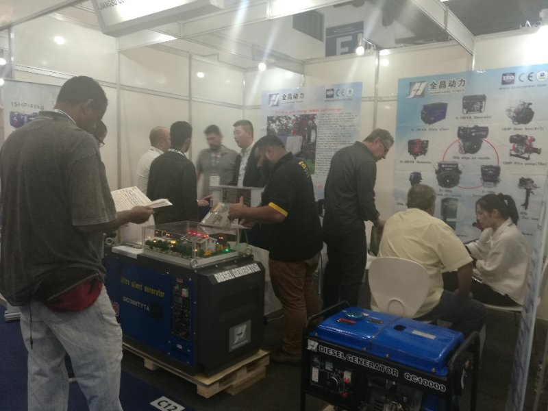 In Brazil  exhibition, electric power products are very popular
