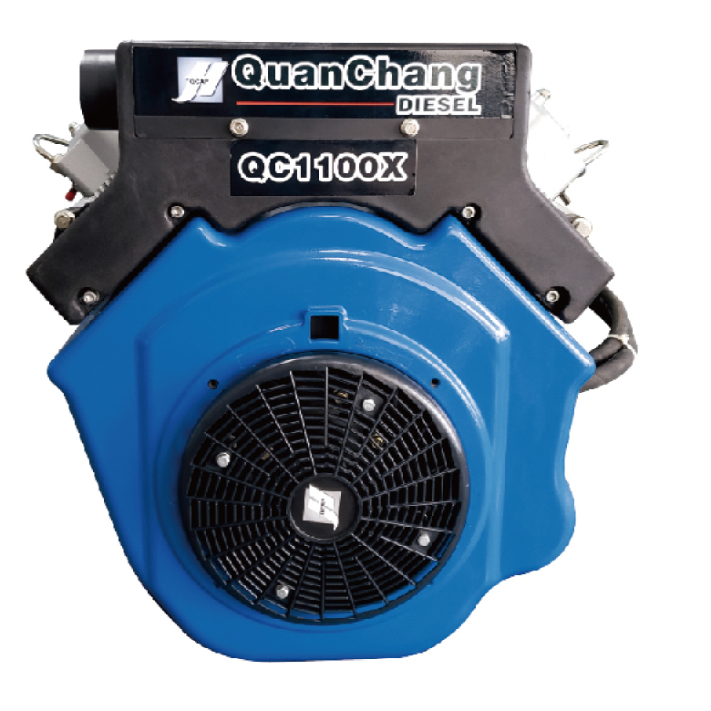 25-30HP V-Twin Air-Cooled Diesel Engine QC1100X