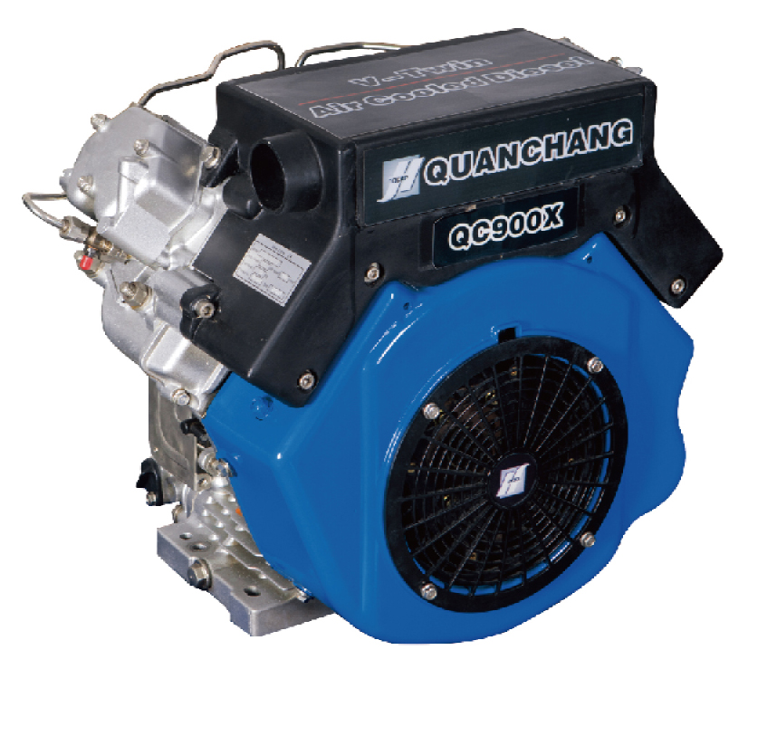 25-30 HP V-Twin Air-Cooled Diesel Engine QC900X