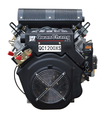 V-Twin Air-Cooled Diesel Engine QC1200XS